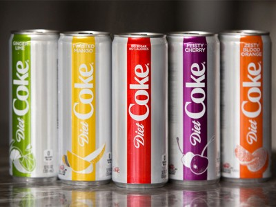 》Diet Coke推出新包装以及小幅度优化logo