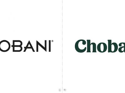 》酸奶巨头Chobani更换全新LOGO和包装(渡岸创意)
