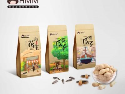 HMM韩梅梅零食包装设计