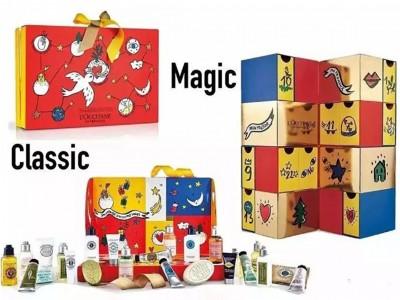 》这些品牌纷纷用插画来做今年的圣诞倒数礼盒 | 插画包装(渡岸创意)