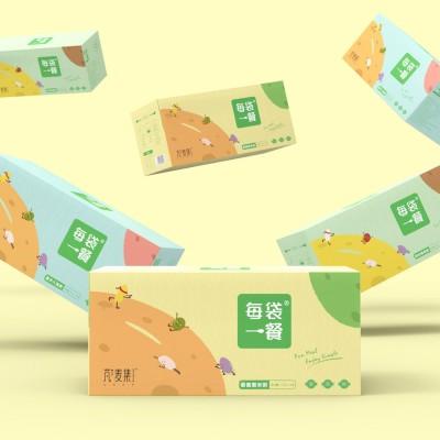 芃麦集品牌包装策划设计
