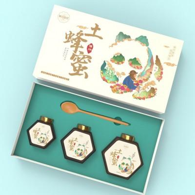 蜂蜜品牌包装设计(陕西产业扶贫&联合助农)
